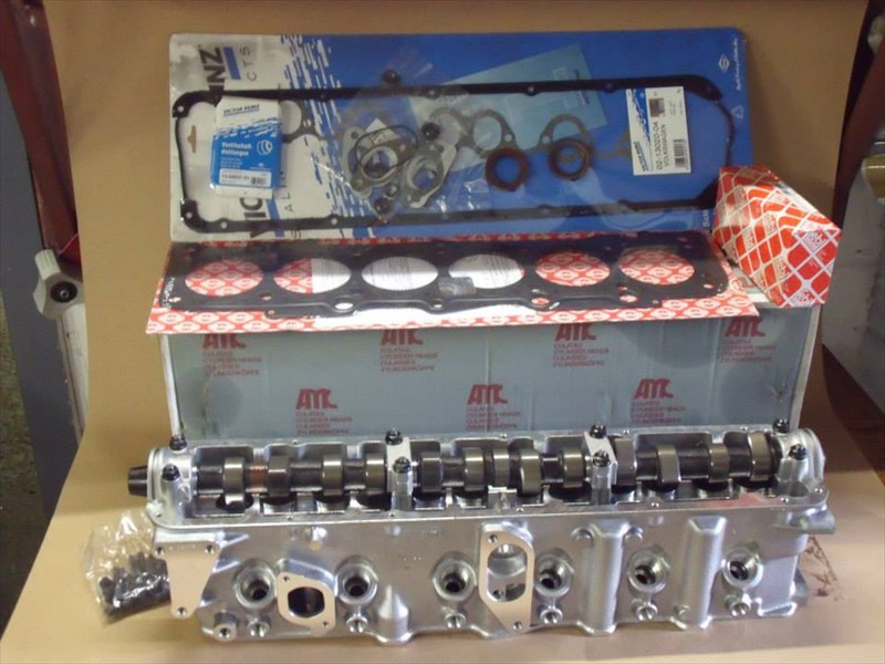 Pinzgaur and Hafflinger new AMC cylinder head