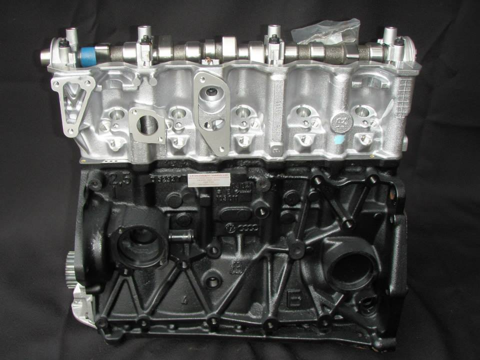 vw diesel engines fully remanufactured with new cylinder