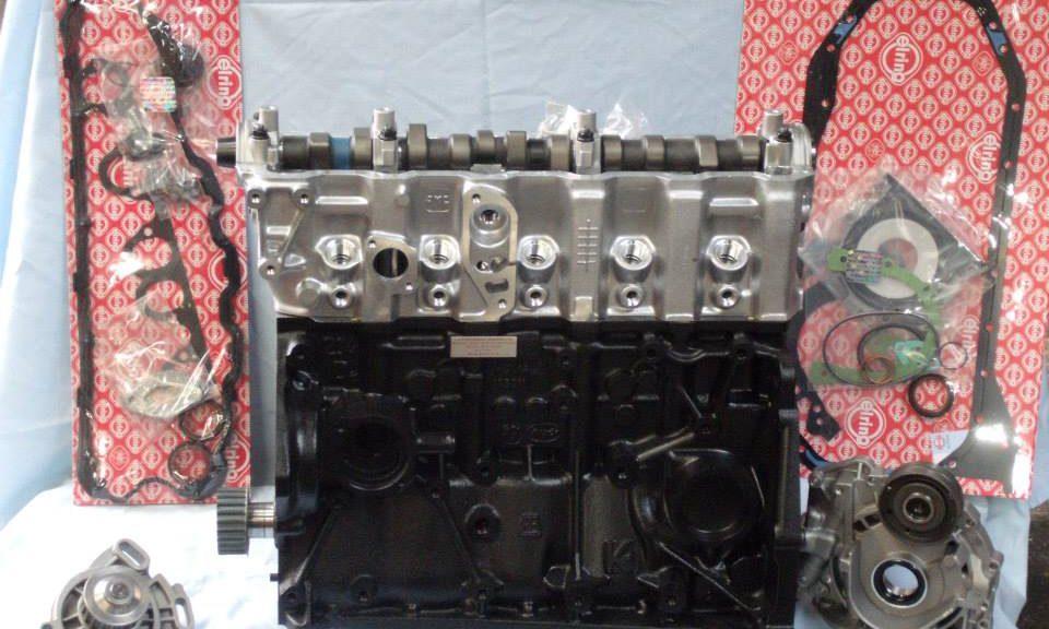 VW 2.4 AAB AJA Engine